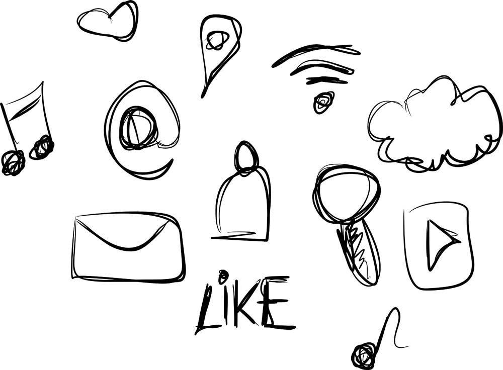 Processus de création d'un logo